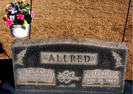 ALLRED, EUGENE - Newton County, Arkansas | EUGENE ALLRED - Arkansas Gravestone Photos