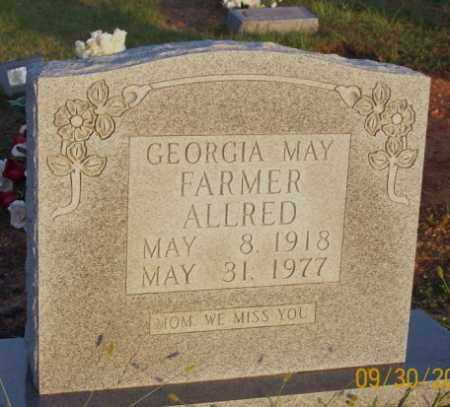 FARMER ALLRED, GEORGIA MAY - Newton County, Arkansas | GEORGIA MAY FARMER ALLRED - Arkansas Gravestone Photos