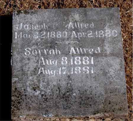 ALLRED, SARRAH - Newton County, Arkansas | SARRAH ALLRED - Arkansas Gravestone Photos
