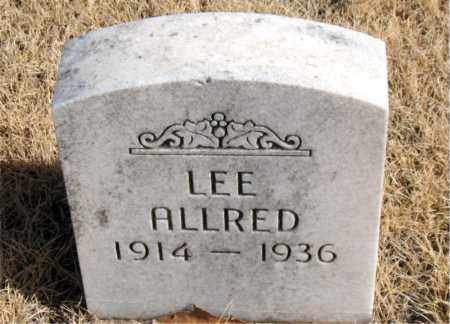 ALLRED, LEE - Newton County, Arkansas | LEE ALLRED - Arkansas Gravestone Photos
