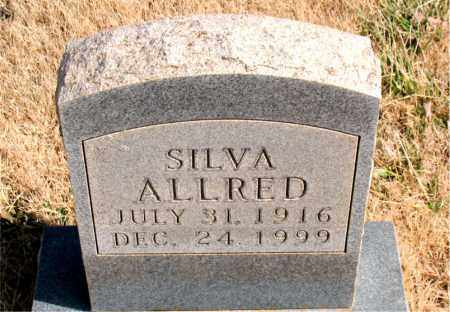 ALLRED, SILVA - Newton County, Arkansas | SILVA ALLRED - Arkansas Gravestone Photos