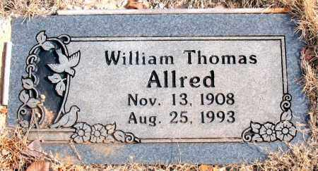 ALLRED, WILLIAM THOMAS - Newton County, Arkansas | WILLIAM THOMAS ALLRED - Arkansas Gravestone Photos