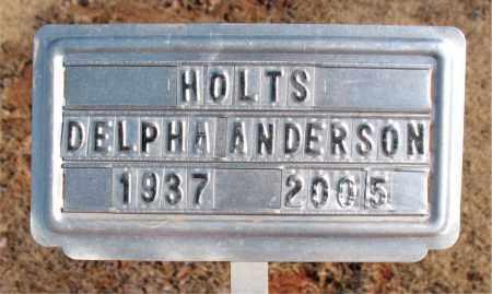 ANDERSON, DELPHIA - Newton County, Arkansas | DELPHIA ANDERSON - Arkansas Gravestone Photos