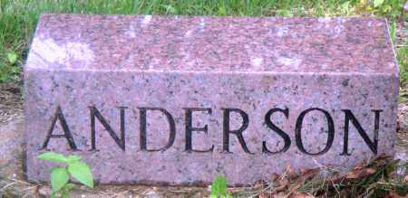 ANDERSON, MRS. - Newton County, Arkansas | MRS. ANDERSON - Arkansas Gravestone Photos