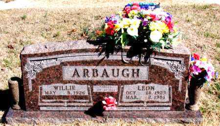 ARBAUGH, LEON - Newton County, Arkansas | LEON ARBAUGH - Arkansas Gravestone Photos