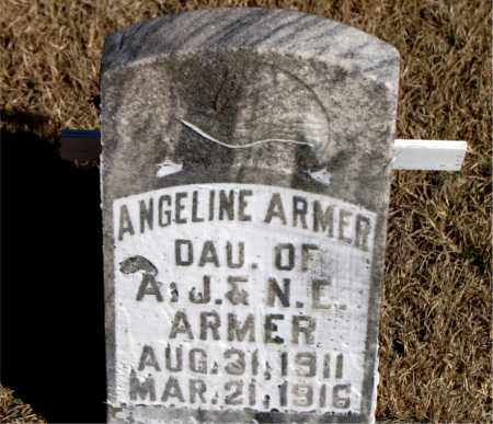 ARMER, ANGELINE - Newton County, Arkansas | ANGELINE ARMER - Arkansas Gravestone Photos