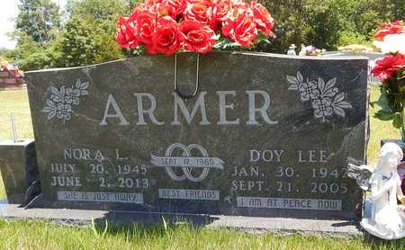 ARMER, DOY LEE - Newton County, Arkansas | DOY LEE ARMER - Arkansas Gravestone Photos