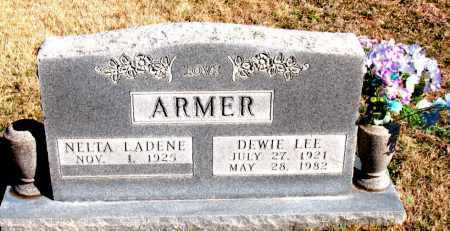 ARMER, DEWIE LEE - Newton County, Arkansas | DEWIE LEE ARMER - Arkansas Gravestone Photos