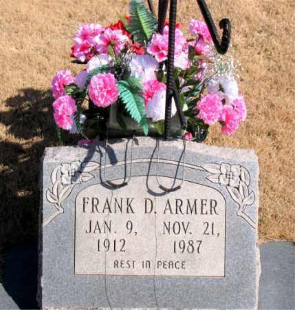 ARMER, FRANK D. - Newton County, Arkansas | FRANK D. ARMER - Arkansas Gravestone Photos