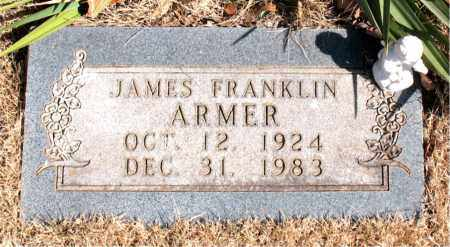 ARMER, JAMES FRANKLIN - Newton County, Arkansas | JAMES FRANKLIN ARMER - Arkansas Gravestone Photos