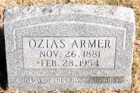 ARMER, OZIAS - Newton County, Arkansas   OZIAS ARMER - Arkansas Gravestone Photos