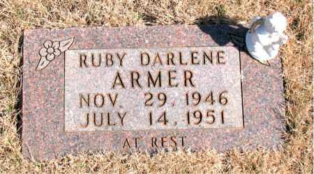 ARMER, RUBY DARLENE - Newton County, Arkansas | RUBY DARLENE ARMER - Arkansas Gravestone Photos