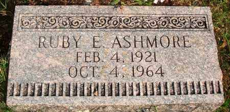ASHMORE, RUBY E. - Newton County, Arkansas | RUBY E. ASHMORE - Arkansas Gravestone Photos