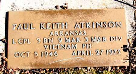 ATKINSON  (VETERAN VIET), PAUL KEITH - Newton County, Arkansas | PAUL KEITH ATKINSON  (VETERAN VIET) - Arkansas Gravestone Photos