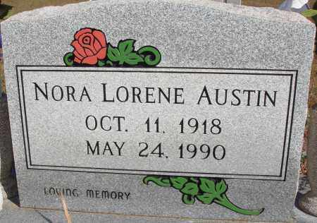 AUSTIN, NORA LORENE - Newton County, Arkansas | NORA LORENE AUSTIN - Arkansas Gravestone Photos