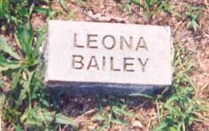 BAILEY, LEONA - Newton County, Arkansas | LEONA BAILEY - Arkansas Gravestone Photos