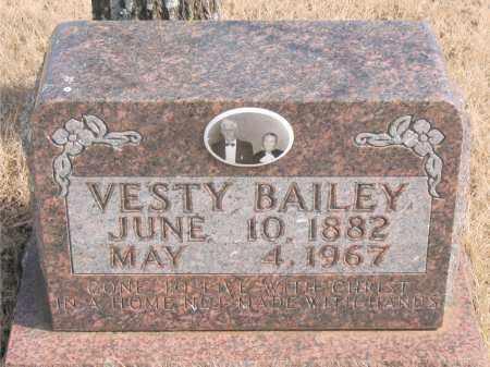 BAILEY, VESTY - Newton County, Arkansas | VESTY BAILEY - Arkansas Gravestone Photos