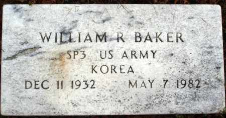 BAKER  (VETERAN KOR), WILLIAM R. - Newton County, Arkansas | WILLIAM R. BAKER  (VETERAN KOR) - Arkansas Gravestone Photos