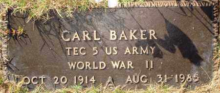BAKER  (VETERAN WWII), CARL - Newton County, Arkansas | CARL BAKER  (VETERAN WWII) - Arkansas Gravestone Photos