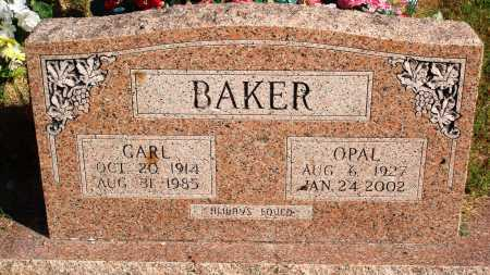 BAKER, CARL - Newton County, Arkansas | CARL BAKER - Arkansas Gravestone Photos
