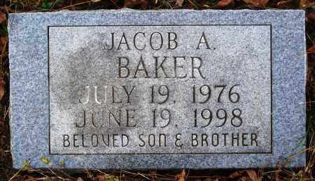 BAKER, JACOB A. - Newton County, Arkansas | JACOB A. BAKER - Arkansas Gravestone Photos