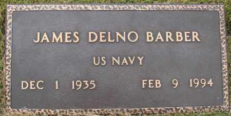 BARBER  (VETERAN), JAMES DELNO - Newton County, Arkansas | JAMES DELNO BARBER  (VETERAN) - Arkansas Gravestone Photos