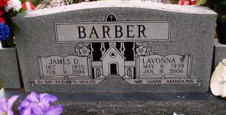 BARBER, LAVONNA S. - Newton County, Arkansas | LAVONNA S. BARBER - Arkansas Gravestone Photos