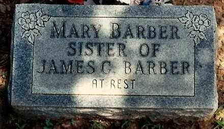 BARBER, MARY - Newton County, Arkansas | MARY BARBER - Arkansas Gravestone Photos