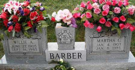 BARBER, MARTHA C. - Newton County, Arkansas | MARTHA C. BARBER - Arkansas Gravestone Photos