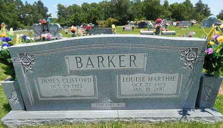 BARKER, JAMES CLIFFORD - Newton County, Arkansas | JAMES CLIFFORD BARKER - Arkansas Gravestone Photos