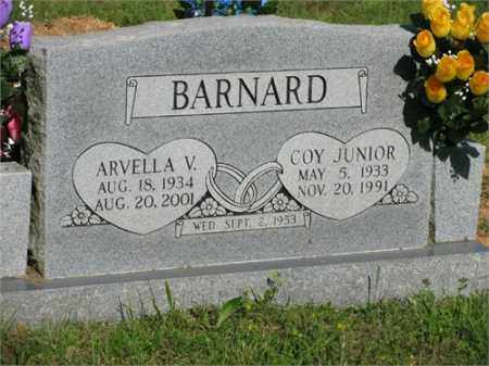 BARNARD, COY JUNIOR - Newton County, Arkansas | COY JUNIOR BARNARD - Arkansas Gravestone Photos