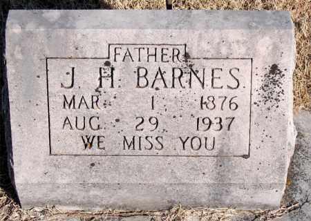 BARNES, J. H. - Newton County, Arkansas | J. H. BARNES - Arkansas Gravestone Photos
