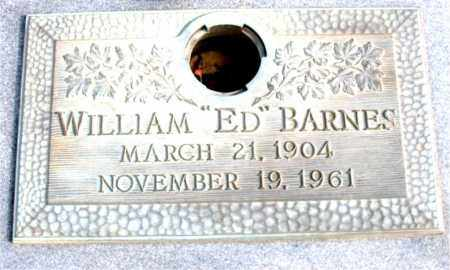 "BARNES, WILLIAM ""ED"" - Newton County, Arkansas 