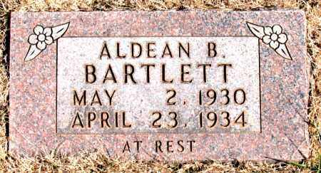 BARTLETT, ALDEAN B. - Newton County, Arkansas | ALDEAN B. BARTLETT - Arkansas Gravestone Photos