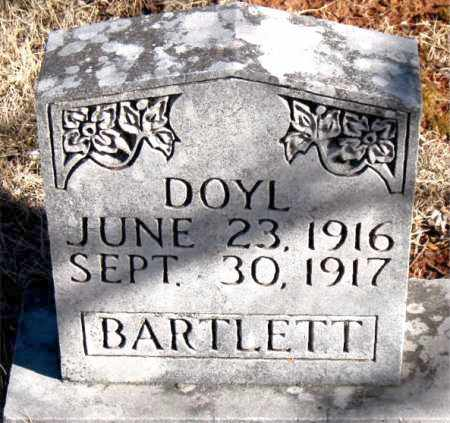 BARTLETT, DOYL - Newton County, Arkansas | DOYL BARTLETT - Arkansas Gravestone Photos