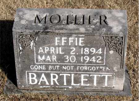 BARTLETT, EFFIE - Newton County, Arkansas | EFFIE BARTLETT - Arkansas Gravestone Photos