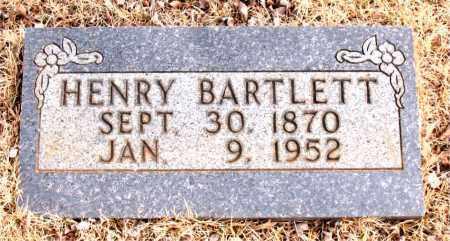 BARTLETT, HENRY - Newton County, Arkansas | HENRY BARTLETT - Arkansas Gravestone Photos