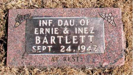 BARTLETT, INFANT DAUGHTER - Newton County, Arkansas | INFANT DAUGHTER BARTLETT - Arkansas Gravestone Photos