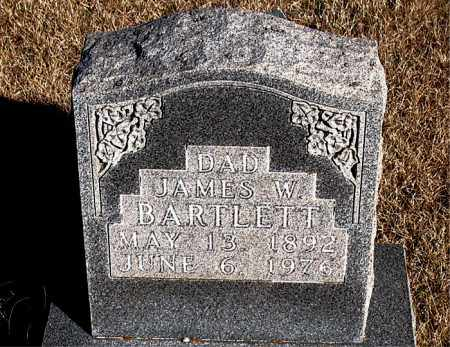 BARTLETT, JAMES W. - Newton County, Arkansas | JAMES W. BARTLETT - Arkansas Gravestone Photos