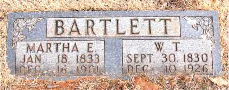 BARTLETT, MARTHA E. - Newton County, Arkansas | MARTHA E. BARTLETT - Arkansas Gravestone Photos