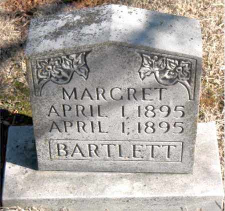 BARTLETT, MARGRET - Newton County, Arkansas | MARGRET BARTLETT - Arkansas Gravestone Photos