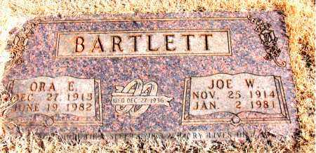 BARTLETT, ORA E. - Newton County, Arkansas | ORA E. BARTLETT - Arkansas Gravestone Photos