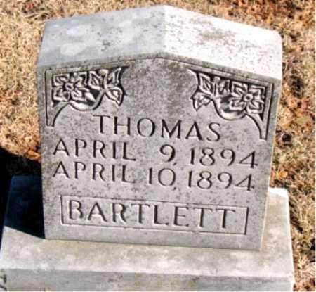 BARTLETT, THOMAS - Newton County, Arkansas | THOMAS BARTLETT - Arkansas Gravestone Photos