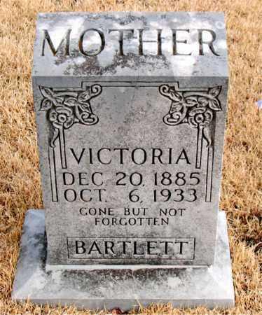 BARTLETT, VICTORIA - Newton County, Arkansas | VICTORIA BARTLETT - Arkansas Gravestone Photos