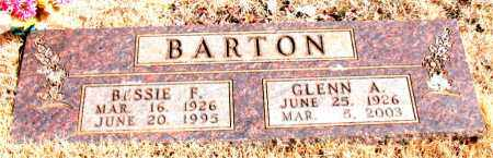 BARTON, BESSIE F. - Newton County, Arkansas | BESSIE F. BARTON - Arkansas Gravestone Photos