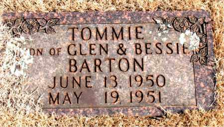 BARTON, TOMMIE - Newton County, Arkansas | TOMMIE BARTON - Arkansas Gravestone Photos