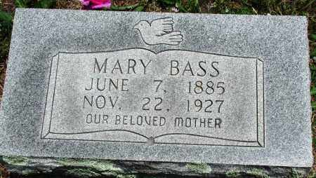 LANE BASS, MARY - Newton County, Arkansas | MARY LANE BASS - Arkansas Gravestone Photos