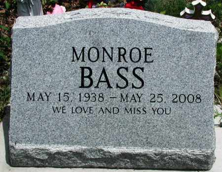 BASS, MONROE - Newton County, Arkansas | MONROE BASS - Arkansas Gravestone Photos