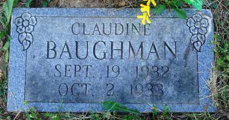 BAUGHMAN, CLAUDINE - Newton County, Arkansas | CLAUDINE BAUGHMAN - Arkansas Gravestone Photos