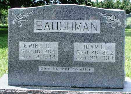 MCDONALD BAUGHMAN, IDAR L - Newton County, Arkansas | IDAR L MCDONALD BAUGHMAN - Arkansas Gravestone Photos